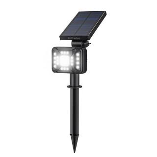 Blitzwolf Externí LED solární lampa BW-OLT2 se senzorem soumraku, 1800mAh