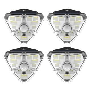 Baseus Externí solární LED lampy s detektorem pohybu (4 ks)