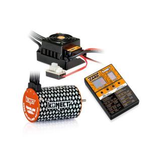 COMBO BRUSHLESS 50Amp WP s 4P 3652SL 4000Kv motorem + programovací karta