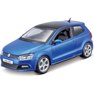 Bburago Plus VW Polo GTI Mark 5 1:24 modrá