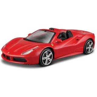 Bburago Ferrari 488 Spider 1:43 červená