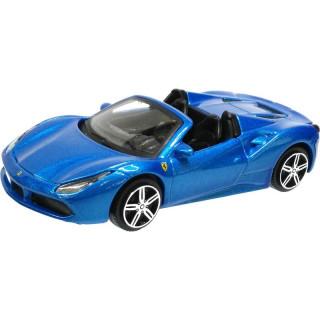 Bburago Ferrari 488 Spider 1:43 modrá