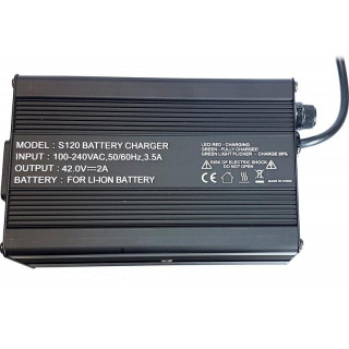 GoMate síťový nabíječ S120 42V/2A pro ER PLUS