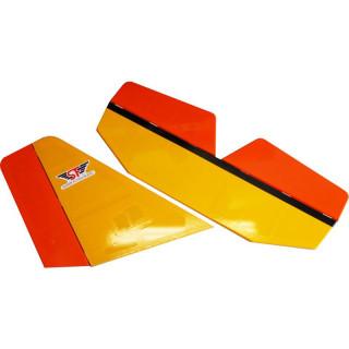Aerosport 103 1:3 žlutý - ocasní plochy