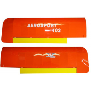 Aerosport 103 1:3 oranžový - křídla