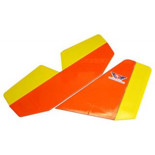 Aerosport 103 1:3 oranžový - ocasní plochy