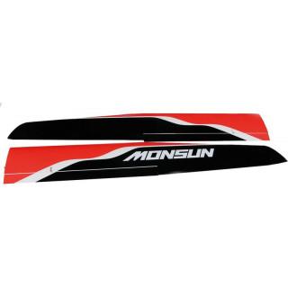 Monsun 3.0m: křídlo