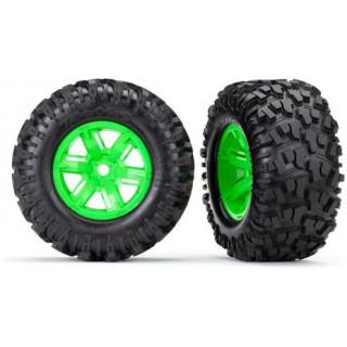 "Traxxas kolo 4.3/5.7"", disk zelený, pneu Maxx AT (pár)"