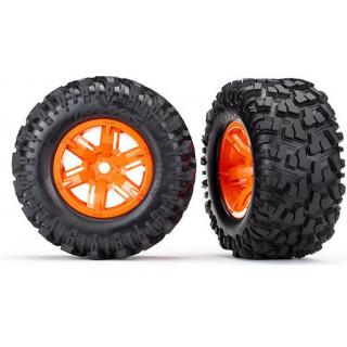 """Traxxas kolo 4.3/5.7"""", disk oranžový, pneu Maxx AT (pár)"""