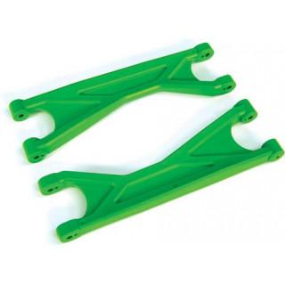 Traxxas ramena závěsu kol horní HD zelené (2)