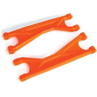 Traxxas ramena závěsu kol horní HD oranžové (2)