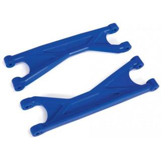 Traxxas ramena závěsu kol horní HD modré (2)
