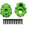 Traxxas vnější díl nápravy hliníkový zelený(2): TRX-4