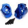 Traxxas lože zadní portálové nápravy hliníkové modré (pár): TRX-4