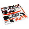 Traxxas samolepky Unlimited Desert Racer Fox Edition