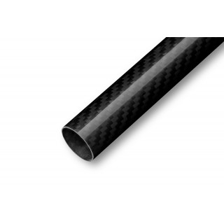 Uhlíková trubka Pletená 14/13mm 1m