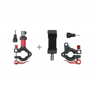 Osmo - Smartphone Holder & Action Camera Holder Set for Bicycles (červená-černá)