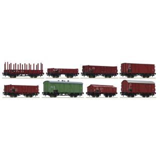 Set osmi nákladních vozů, ČSD