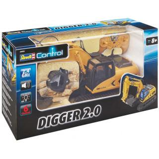 Pracovní stroj REVELL 24924 - Digger 2.0