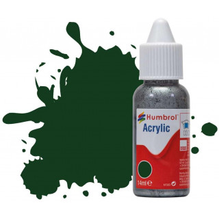Humbrol barva akryl DB0003 - No 3 Brunswick Green Gloss - 14ml