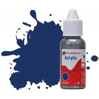 Humbrol barva akryl DB0015 - No 15 Midnight Blue - Gloss - 14ml