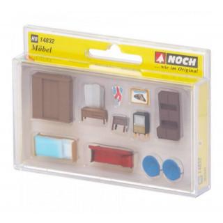Nábytek: ložnice a obývací pokoj NO14832
