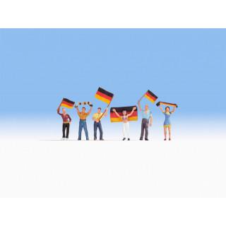 Němečtí fanoušci NO15966