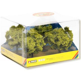 Ovocné stromy, zelené, 4 ks, 7,5 cm NO21001