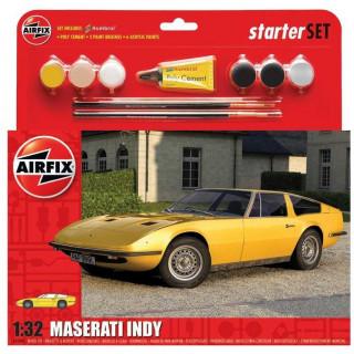 Starter Set auto A55309 - Maserati Indy (1:32) - reedice