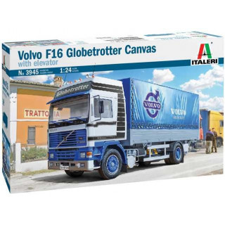 Model Kit truck 3945 - VOLVO F16 Globetrotter Canvas (1:24)