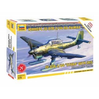 """Snap Kit letadlo 7323 - JU-87B-2/U4 """"STUKA"""" with skis (1:72)"""
