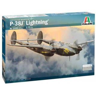 "Model Kit letadlo 1446 - P-38J ""Lightning"" (1:72)"