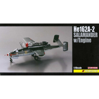 Model Kit letadlo 5576 - He162A-2 Salamander w/Engine (1:48)