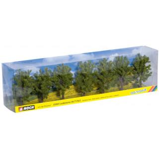 Listnaté stromy 7 ks, 8 cm NO25088