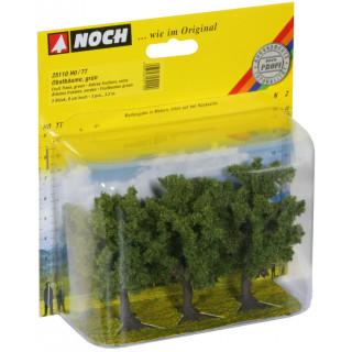 Ovocné stromy, zelené, 3ks, 8cm NO25110