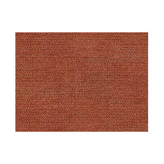 3D kartonová deska, slínku cihly 25 x 12,5 cm / ks NO56610