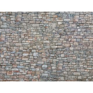 3D kartonová deska, kamenná zeď 25 x 12,5 cm / ks NO56640