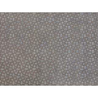 3D kartonová deska, moderní omítka 25 x 12,5 cm / ks NO56722