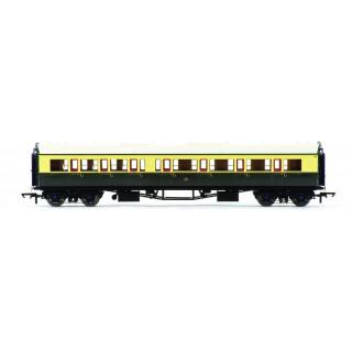 Vagón osobní HORNBY R4762 - GWR Collett Coach Corridor Composite RH
