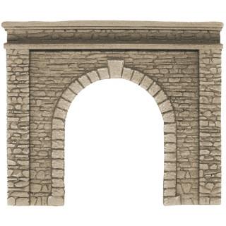 Tunelový portál - jednokolejný, 15 x 12,5 cm NO58061