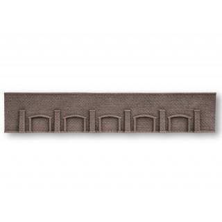 Arkádová stěna, extra dlouhá, 66 x 12,5 cm NO58277