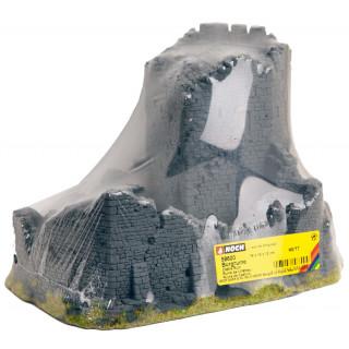 Zřícenina hradu 18 x 14 x 12 cm NO58600