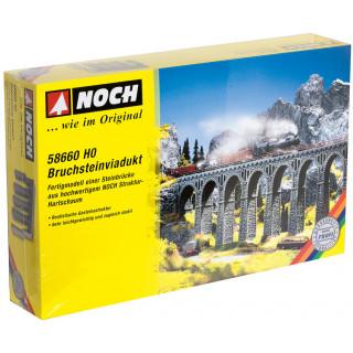 Kamenný viadukt 37 x 4,4 x 24,5 cm NO58660