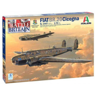 Model Kit letadlo 1447 - Fiat BR.20 Cicogna (1:72)