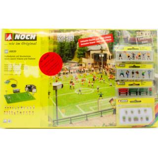 Fotbalové hřiště s klubovnou (se zvukem) + NO15989, NO15540, NO14848, NO14032