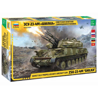 Model Kit military 3635 - ZSU-23-4M SHILKA (1:35)