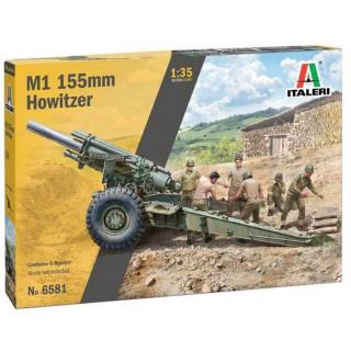 Model Kit military 6581 - M1 155mm Howitzer (1:35)