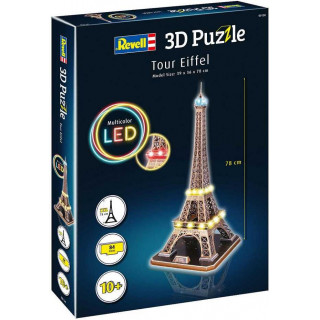 3D Puzzle REVELL 00150 - Tour Eiffel (LED Edition)