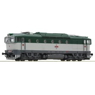 Motorová lokomotiva řady T478.3 RO72050