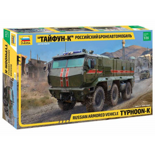 Model Kit military 3701 - Typhoon-K 6X6 Armoured Vehicle (1:35)
